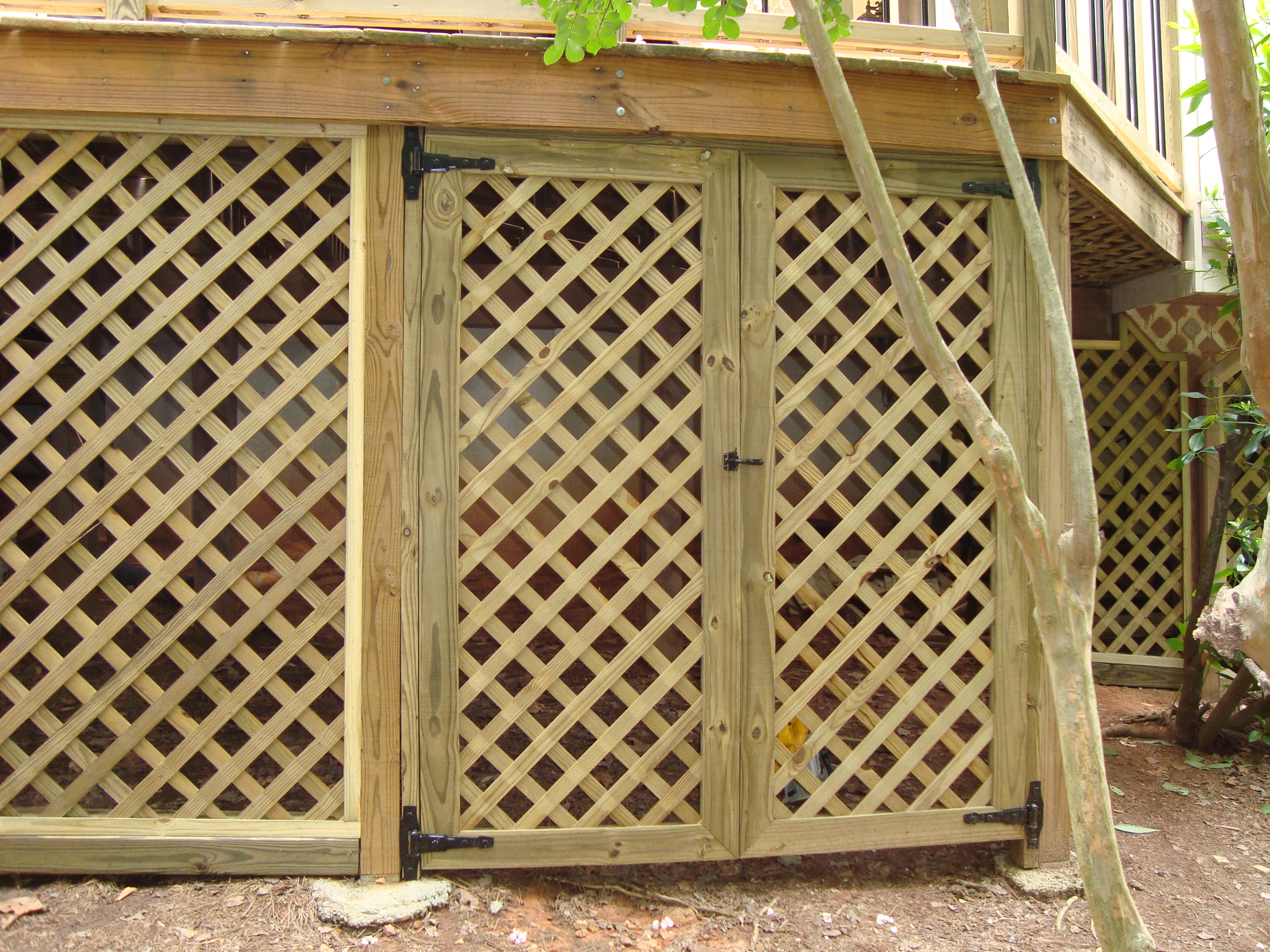 Lattice Doors Amp Lattice Door Inserts Crafted From Solid