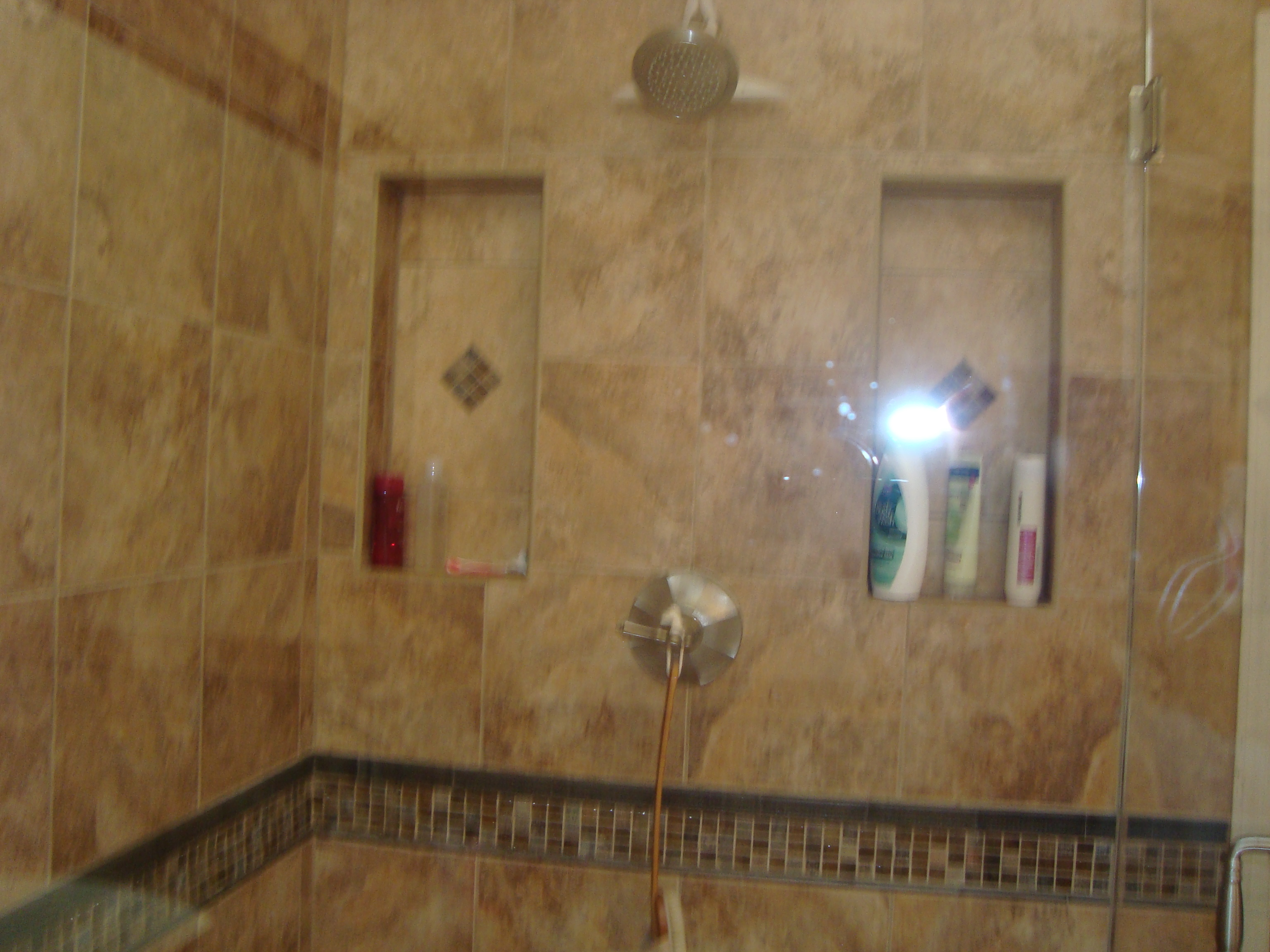 ... Double Soap Niche, And Octagonal Shower ...
